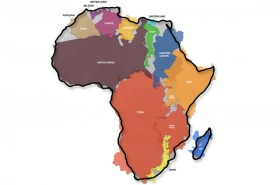 This is the True Size of Africa