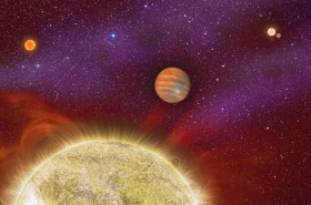 Newly Discovered Planet Has Four Parent Stars