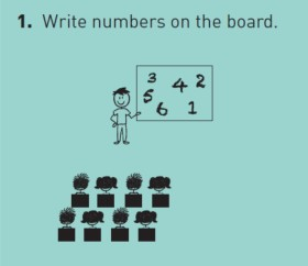 Number Race Activity for Primary Learners
