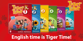 Tiger Time – English time is Tiger Time!