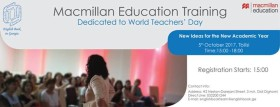 Macmillan Education Training 5th of October